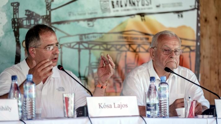 Kósa Lajos, a Fidesz frakcióvezetője a 28. Bálványosi Nyári Szabadegyetem és Diáktábor pénteki panelbeszélgetésén