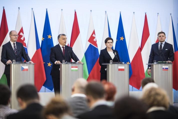 Az európai jövő a visegrádi négyekben (V4) van – jelentette ki Orbán Viktor kormányfő