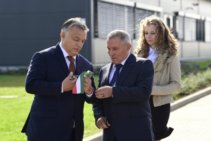 Orbán Viktor miniszterelnök szerdán Nyíregyházán