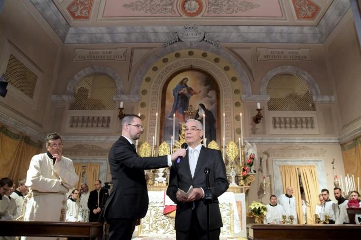 Felavatták az olaszországi Tolentinóban a Szent Szív és Szent Benedek-templomot, amelynek helyreállítását Magyarország finanszírozta.