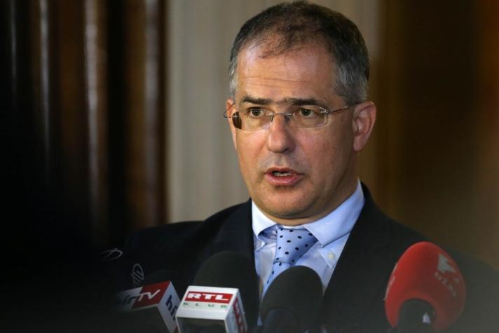 Kósa Lajos keddi sajtótájékoztatóján