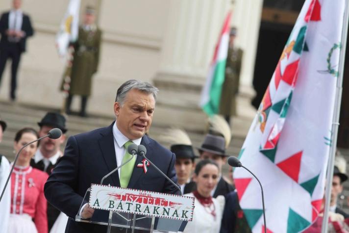 Orbán Viktor: Március 15. a cáfolhatatlan bizonyíték, hogy mi voltunk, vagyunk és leszünk, ez a mi diadalunk