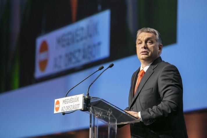 Orbán Viktor a Fidesz XXVI. kongresszusán