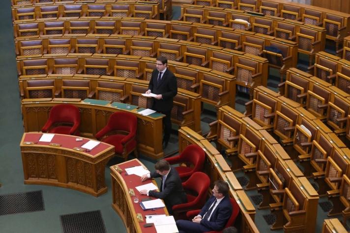 Gulyás Gergely napirend előtti felszólalásában