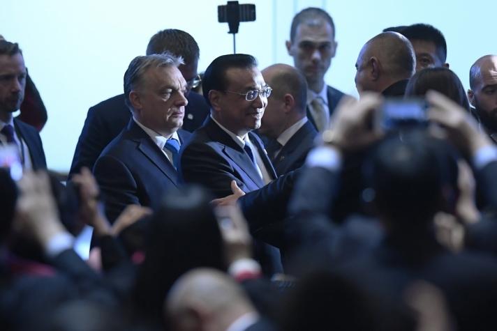 Orbán Viktor miniszterelnök hétfőn Budapesten, Kína, valamint 16 kelet-közép-európai ország gazdasági és kereskedelmi fórumán