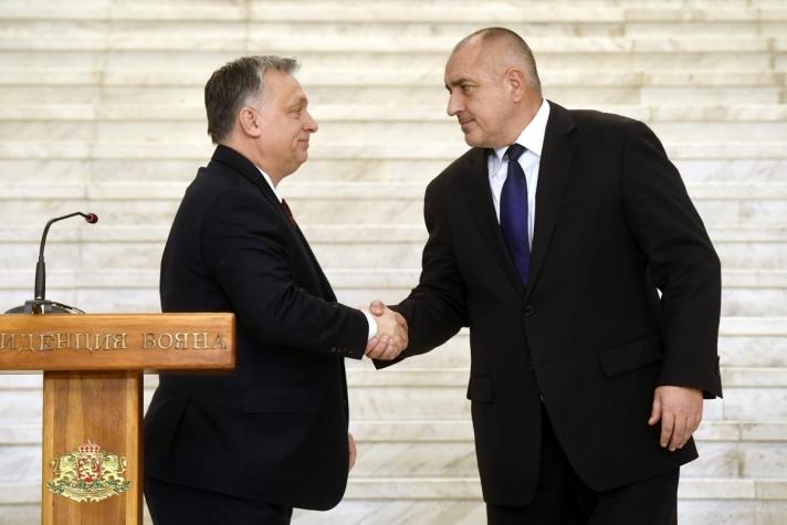 Orbán Viktor miniszterelnök hétfőn Szófiában