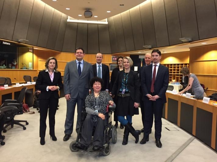 Kósa Ádám – megerősítették elkötelezettségüket a fogyatékossággal élő polgárok jogainak védelme mellett.