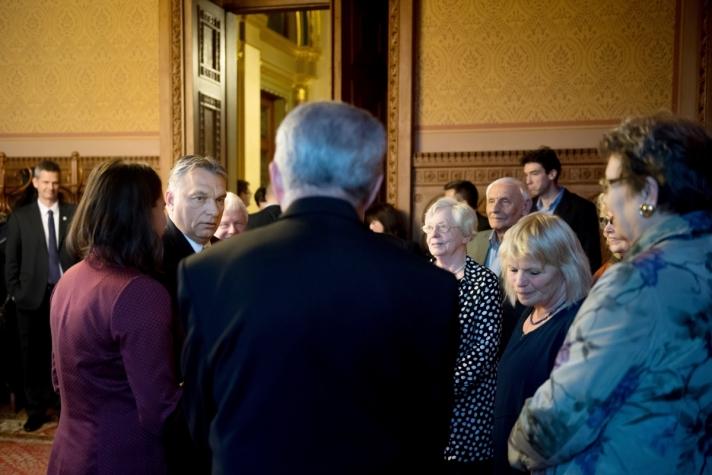 Az Idősek Tanácsa keddi ülése után.